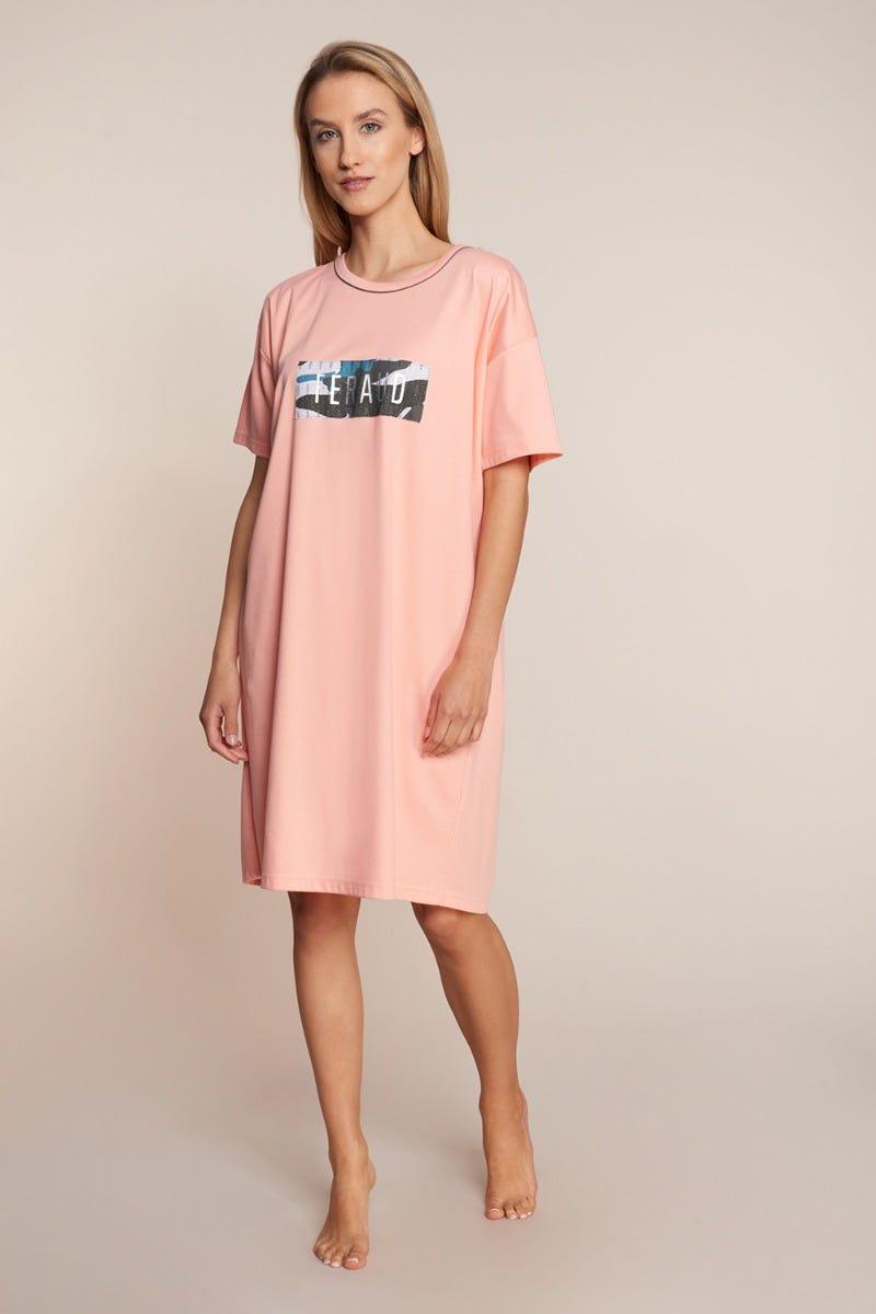 Bigshirt mit Logomotiv Oversize 100% Baumwolle 3211042