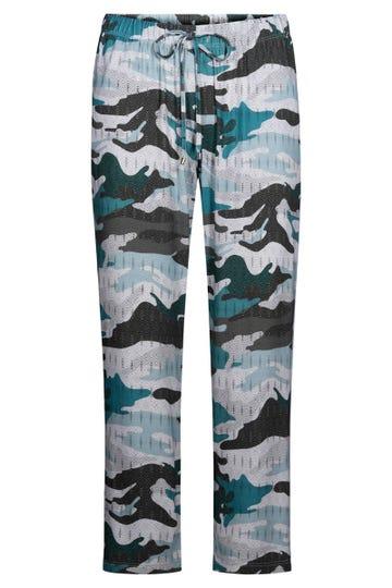 7/8-Hose im Camouflageprint Freizeithose Mustermix Viskose/Elasthan 3211045