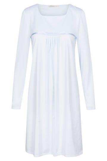 Bigshirt mit Faltendetails puristisch verspielt 100% Baumwolle