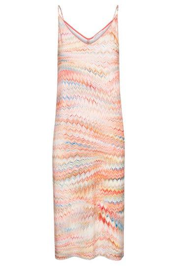 Trägerkleid im orientalischen Zackenprint grafisch Viskose/Elasthan 3215092