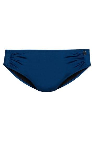 Basic Bikinihose mit Raffungen Mix und Match 3889518c1008448