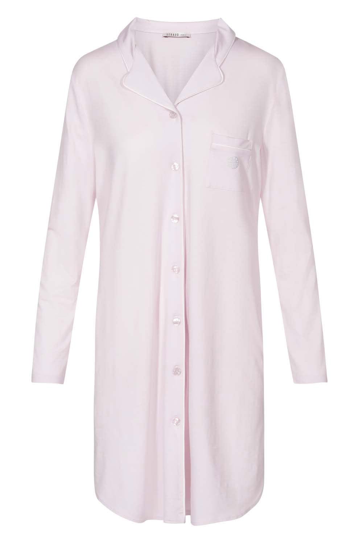 Nachthemd mit Reverskragen