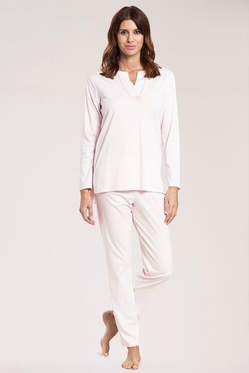 Pyjama langarm mit Tunika-Ausschnitt