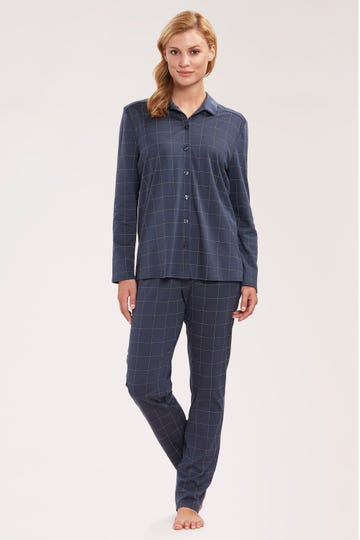 Pyjama im Karomuster